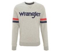 Sweatshirt, Baumwolle, Logo-Print, Rippbündchen