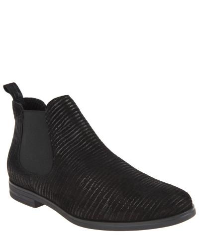mark adam damen chelsea boots veloursleder schimmernde. Black Bedroom Furniture Sets. Home Design Ideas