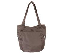 """Handtasche """"Spirit"""", Nylon, Reißverschlusstaschen, Braun"""