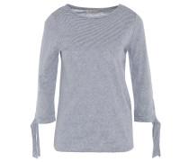 Shirt, 3/4-Arm, geknotete Ärmel, Streifenmuster