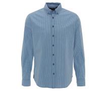 Hemd, modern fit, Button-Down-Kragen, kariert