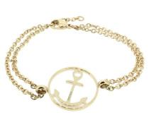 Anker Armband 108033 Edelstahl rund rosegold