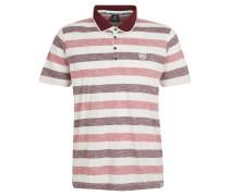 Poloshirt, Muster, Reine Baumwolle, Rot