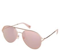 "Sonnenbrille ""MARC 168/S"", Piloten-Form, gedrehtes Design"