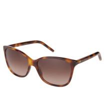 """Sonnenbrille """"MARC 78/S"""", Schildpatt-Design, Verlaufsgläser"""