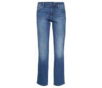 Denim Jeans, straight fit, Blau