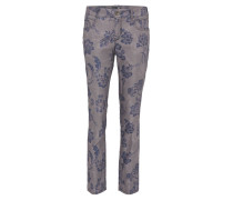 """Jeans """"Zuri"""", floral, Slim Fit, Kurzgröße, Stretch"""