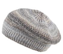 Mütze, Strick, Effekt-Streifen, Fleece-Futter
