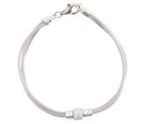 Armband, Silber 925, mit Zirkonia, dreireihig
