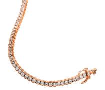 Armband mit Zirkonia Silber rosevergoldet SO1169/1