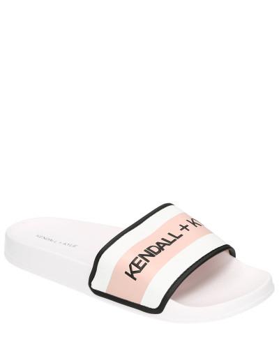 Slides, Logo-Print, vorgeformtes Fußbett