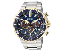 "Herrenuhr, ""Sports"", Chronograph, Eco Drive"