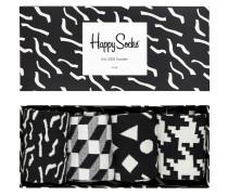 "Socken, Geschenkbox ""Black & White"", 4er-Pack"