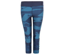 Leggings, Kompression, Capri-Länge, für Damen, Blau