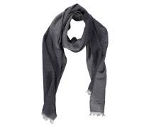Schal, Baumwoll-Mix, kleines quadratisches Muster