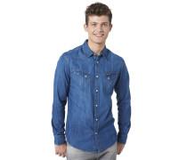 Jeans-Hemd, Blau