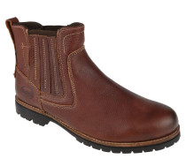 Chelsea Boots, Leder, elastische Einsätze, Profilsohle