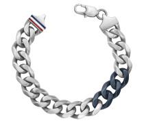 MEN'S CASUAL Armband silberfarben-blau 2700681
