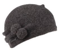 Mütze, Schurwolle, Bommel