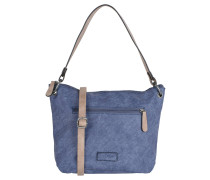 "Handtasche ""Frederike"", Flecht-Optik, Blau"