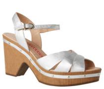 Sandaletten, Leder, Nieten-Applikationen