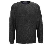 Pullover, Strick, meliert, Grau