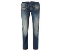 Jeans, Straight Leg, Five-Pocket