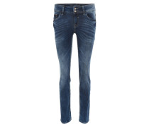 "Jeans ""Slim Carrie"", Stretch, Slim Fit, Blau"