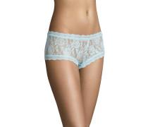 Pants, transparent, Spitzen-Design, Türkis