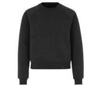 Sweatshirt, gesteppt, Raglanärmel