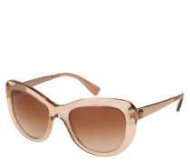 "Sonnenbrille ""VE 4325 5215/13"", transparentes Design, Verlaufsgläser"