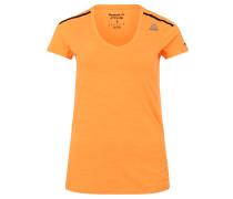 T-Shirt, atmungsaktiv, für Damen, Orange