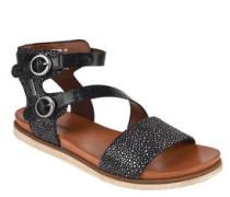 Sandalen, Klettverschluss, gummierte Laufsohle, Punktemuster