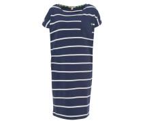 """Kleid """"Blakeney"""", Kurzarm, Streifen-Design, Brusttasche, Emblem, Blau"""