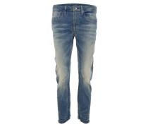 "Jeans ""ARC 3D"", Used-Look, Boyfriend-Stil, Blau"