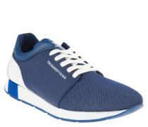 Sneaker, Mesh, Farbakzente, Blau