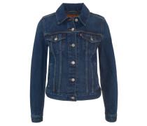"""Jeansjacke """"Original Trucker"""", Used-Look, Brusttaschen, verstellbare Taille, Blau"""