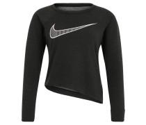Trainingsshirt, atmungsaktiv, kurz, für Damen, Grau