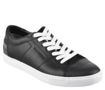 "Sneaker ""J2285AY 7A1"", Leder, Logo-Stickerei, Schwarz"