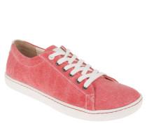 """Sneaker """"Arran"""", schmale Weite, Ledersohle, Rot"""