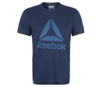Trainingsshirt, Slim, SpeedWick, Logo-Besatz, für Herren, Blau