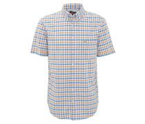 Freizeithemd, Comfort Fit, Button-Down-Kragen, Brusttasche, Orange