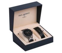 Set Black Sea NORTH BOUND Armbanduhr und Armband PH-PM-2