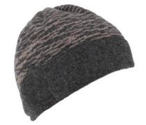 Mütze, meliert, Schurwolle