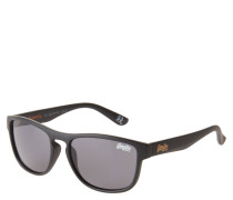 "Sonnenbrille ""SDS Rockstar 104B"", mattes Design, Label-Print"