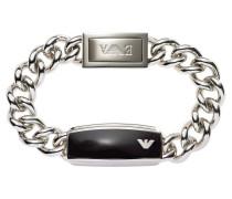 Armband Edelstahl mit Harz schwarz EGS1729040