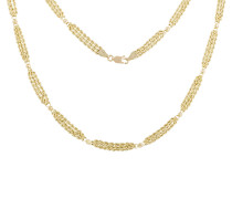 Kordelkette Gold 375