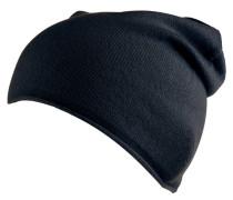 Mütze, reines Cashmere, Rollsaum