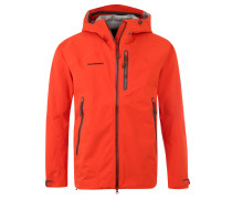 "Outdoorjacke ""Masao"", wasserdicht, für Herren, Orange"