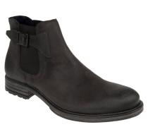 Chelsea Boots, Veloursleder, Schnalle